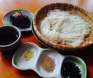 food, noodle, and japan image