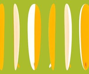 longboard, beach, and surf image