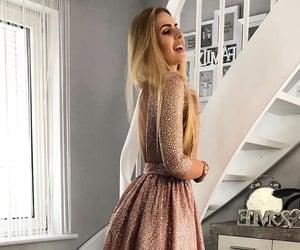 dress, fashion, and pageant dress image