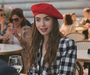 lily collins, emily in paris, and netflix image