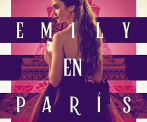 emily in paris, serie, and lily collins image