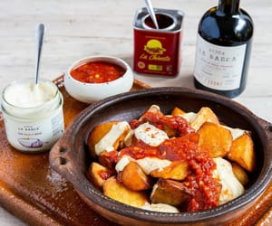 tapas, appetizer, and spanish food image