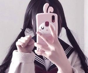 aesthetic, schoolgirl, and cute image
