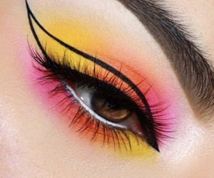 aesthetic, we heart it, and eye-liner image