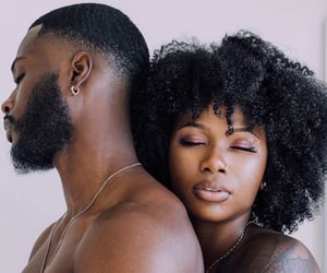 couples, black love, and love image