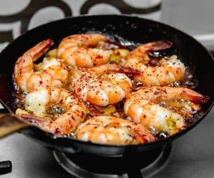 chilli, garlic, and prawn image