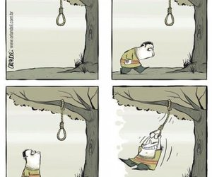 happy, funny, and suicide image