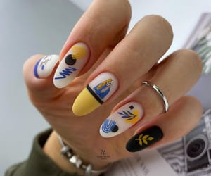 nail art, pop art, and matte nails image