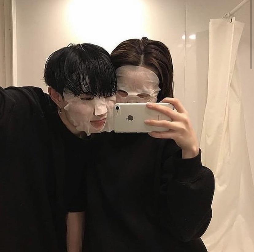 couple and ulzzang couple image