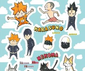 haikyuu, karasuno, and nekoma image