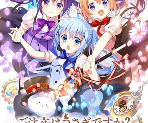 anime, cafe, and cocoa image