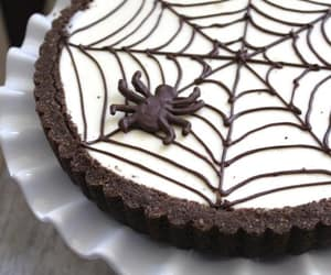 cheesecake, food, and spider image