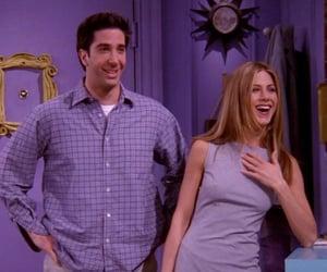 David Schwimmer, Jennifer Aniston, and friends image
