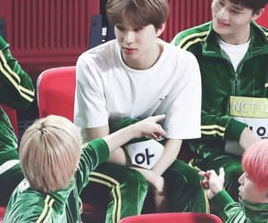 super m, jungwoo, and nct u image