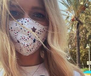 blond hair, johanna braddy, and wear a mask image