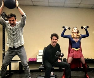 DC, chris wood, and Supergirl image