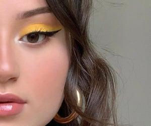 aesthetic, cat eyes, and eyeliner image