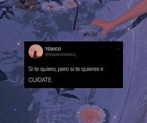 amor, frases, and mujer image