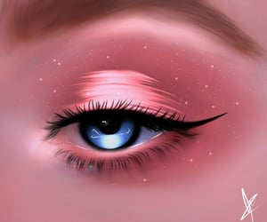 eye, kimchidomin, and messy image