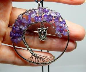 etsy, amethyst purple, and gift for yogi image