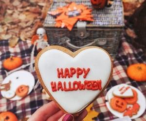 Halloween, autumn, and aesthetic image