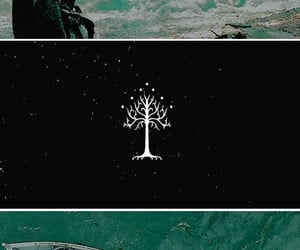 the lord of the rings, middle earth arda, and white tree image