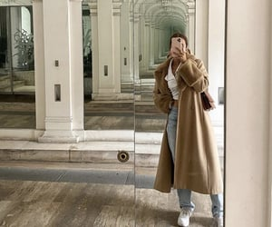 everyday look, mirror selfie, and fashionista fashionable image