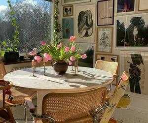 apartment, interior, and art image