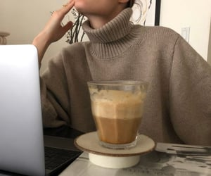 coffee, beige, and aesthetic image