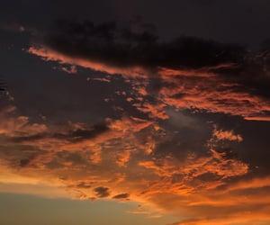 atardecer, beautiful, and clouds image