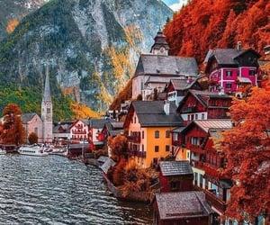 austria, travel, and mountains image