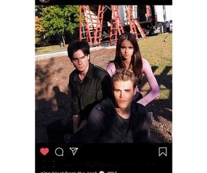 cast, trio, and the vampire diaries image