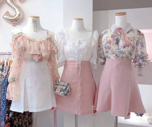 fancy, pink, and ulzzang image
