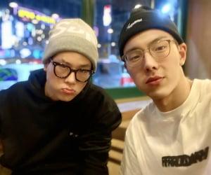 jooheon, lee joo-heon, and son hyun-woo image