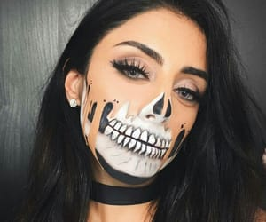 Halloween, makeup, and tumblr image