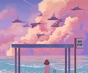 aesthetic, anime, and wallpaper image