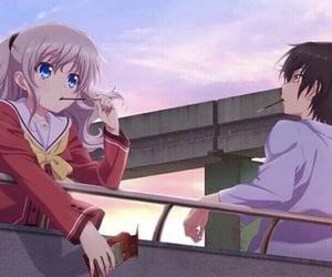 fanart, anime girl, and charlotte image