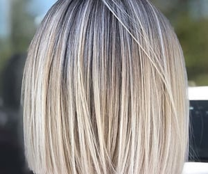 blond, blunt, and bob image