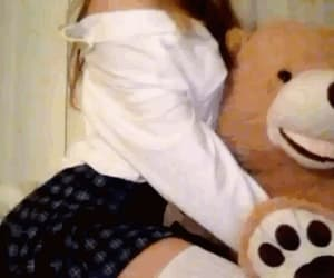 aesthetic, outfit, and teddybear image