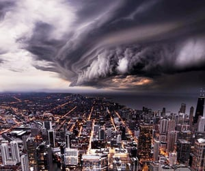 scary, chicago, and photograph image