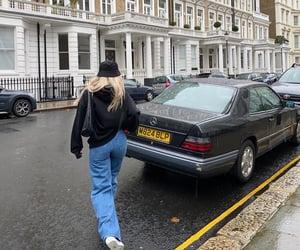 london england, everyday look, and black hoodie image
