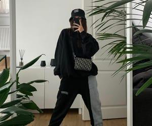 black sweater, blogger, and bob image
