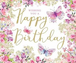 birthday, happy birthday, and pink image