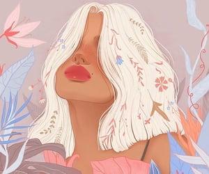 illustration, art, and girl image