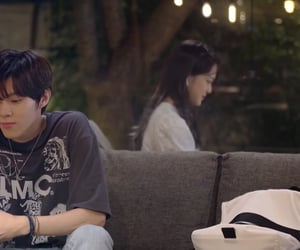 asian, couple, and drama image