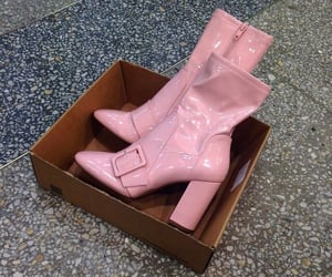 boots and pink image