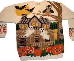 Halloween and sweater image