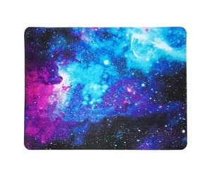 galaxy, non-slip, and rubber mousepad image