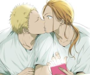 anime, couple, and given image