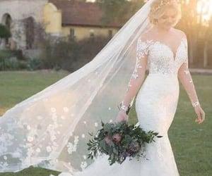 beautiful, boda, and elegante image
